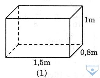Thể tích hình hộp chữ nhật (a) là :